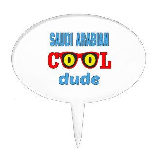 Saudi Arabian Cool Dude Cake Toppers