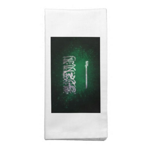 Saudi Arabian Flag Napkins