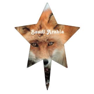 Saudi Arabian Fox Cake Topper
