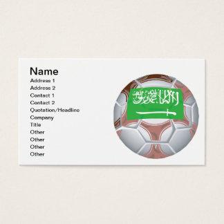 Saudi Arabian Soccer Ball Business Card
