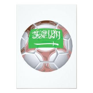 Saudi Arabian Soccer Ball Card