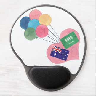 saudi-australian gel mousepad