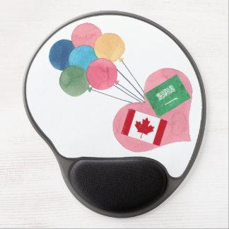 saudi-canadian gel mousepad