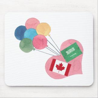 saudi-canadian mousepad