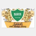 Saudí con clase pegatinas