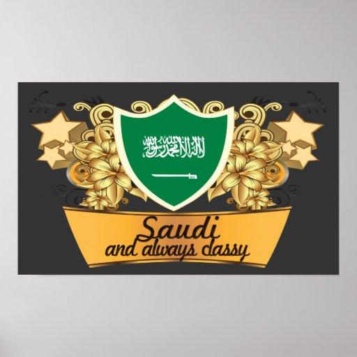 Saudí con clase posters