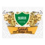 Saudí con clase tarjetas postales