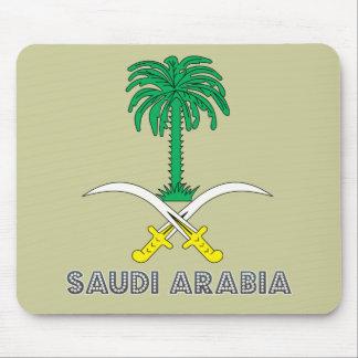 Saudi Emblem Mouse Pad