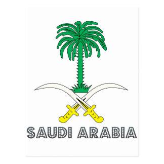 Saudi Emblem Postcard