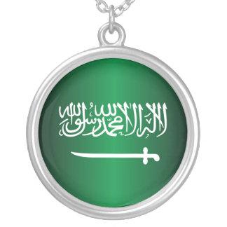 Saudi Flag Necklace
