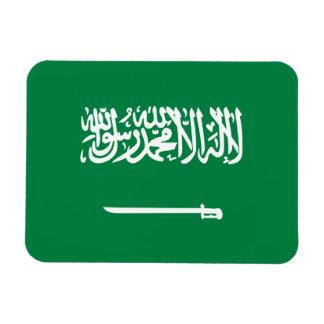 Saudi Flag Rectangular Photo Magnet