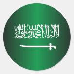 Saudi Flag Stickers