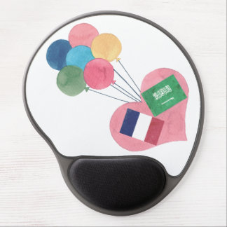 saudi-french gel mousepad