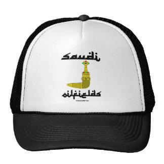 Saudi Gold Dagger Oil Field Cap Trucker Hat