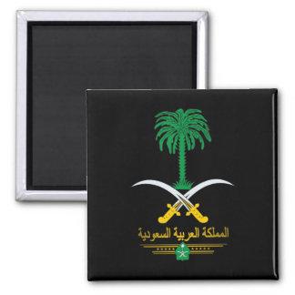 Saudi National Emblem 2 Inch Square Magnet