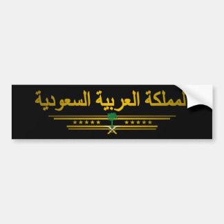 """Saudi Pride"" Bumper Sticker"