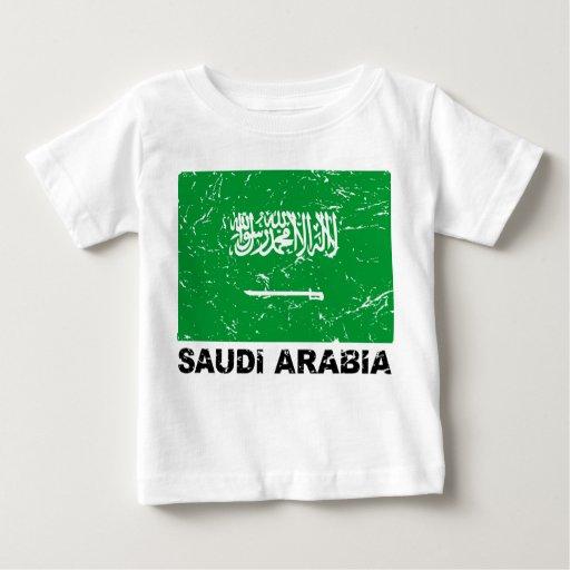 Saudia Arabia Vintage Flag Shirt