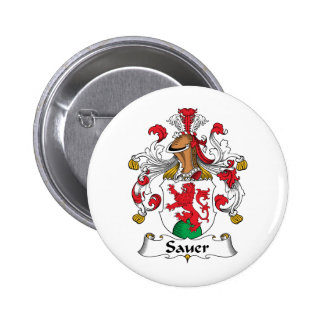 Sauer Family Crest Pin