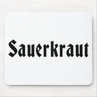 Sauerkraut Mouse Pad