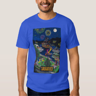Saugatuck (Night) Men's T-Shirt