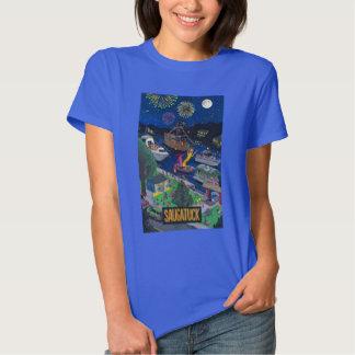 Saugatuck (Night) Women's T-Shirt