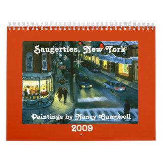 Saugerties, calendario de Nueva York 2009