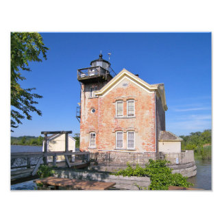 Saugerties Lighthouse, Hudson River New York Photo Print