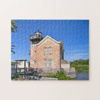 Saugerties Lighthouse, Hudson River New York Puzzle