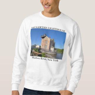 Saugerties Lighthouse, Hudson River New York Sweatshirt