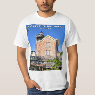 Saugerties Lighthouse, Hudson River New York T-Shirt