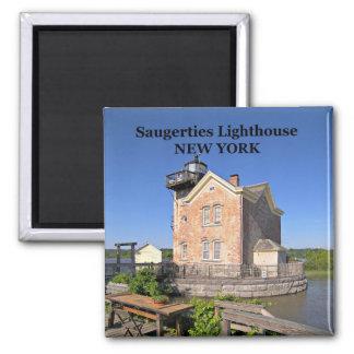 Saugerties Lighthouse, New York Magnet