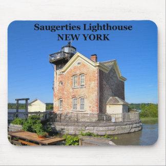 Saugerties Lighthouse, New York Mousepad
