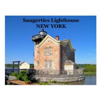 Saugerties Lighthouse, New York Postcard