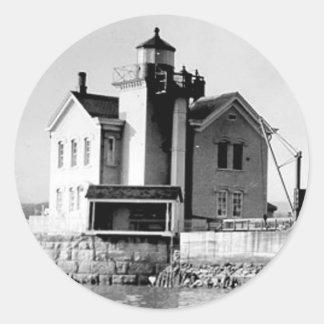 Saugerties Lighthouse Classic Round Sticker