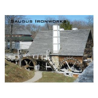 Saugus Ironworks Postcard