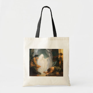 Saul and the Witch of Endor, by Benjamin West Tote Bag