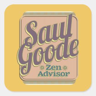 Saul Goode – Zen Advisor Square Sticker