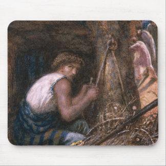 Saul que oculta entre la materia, 1866 mouse pad