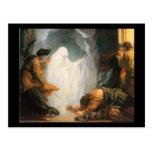 Saul y la bruja de Endor, por Benjamin del oeste Tarjetas Postales