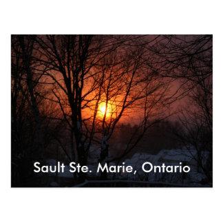Sault Ste. Marie, Ontario Postcard