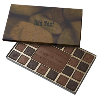 Sauna Stone 45 Piece Box Of Chocolates