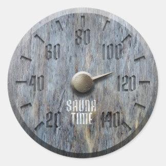 Sauna Time Sticker