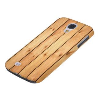 Sauna Wood Panels Samsung Galaxy S4 Cover