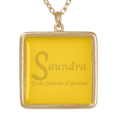 Saundra Necklace