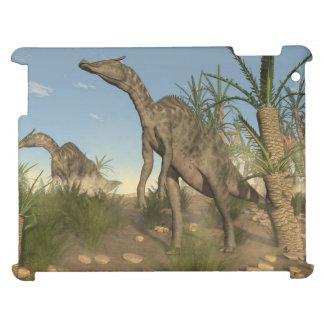 Saurolophus dinosaurs - 3D render iPad Case