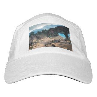 Saurolophus hunting tarbosaurus dinosaur headsweats hat
