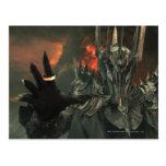 Sauron con la mano postales