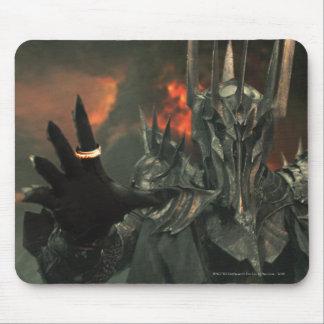 Sauron con la mano tapete de ratones
