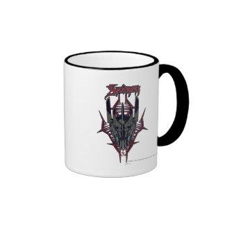 Sauron Icon Ringer Coffee Mug