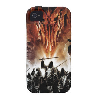 Sauron, Orcs, Witchking, y Wraiths del anillo iPhone 4/4S Carcasas